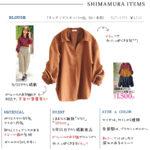 【しまむら購入品】可愛くて使える!雑誌「ViVi」コラボのブラウス、ボリューム袖と秋カラーが素敵