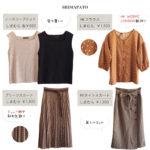 【しまパト】980円ノースリニットを色ち買い、HK WORKS新作、新ブランドデビュー?